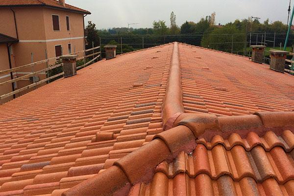 Ristrutturazione del tetto di un'abitazione