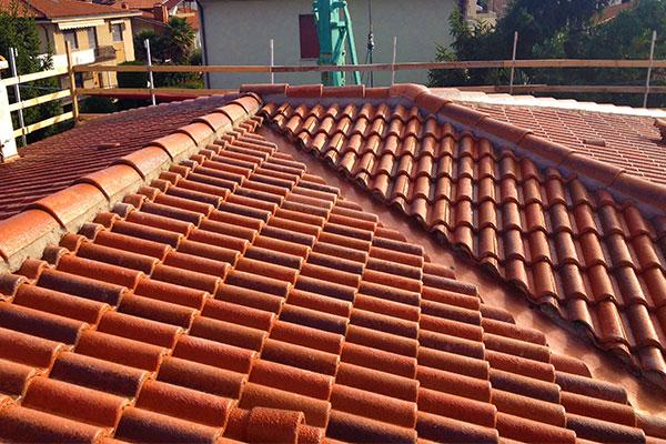 Rifacimento del tetto di una abitazione